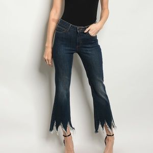 Denim - ⭐Cropped Distressed Jeans⭐